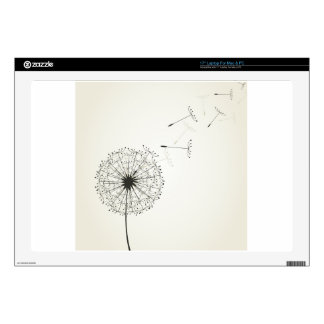 "Dandelion 17"" Laptop Decal"