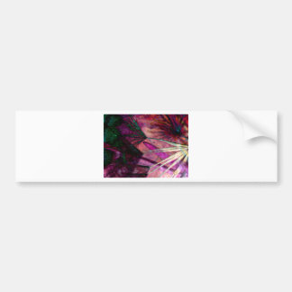 Dandelion Abstract Gifts Bumper Sticker