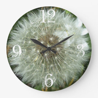 Dandelion Acrylic Wall Clock