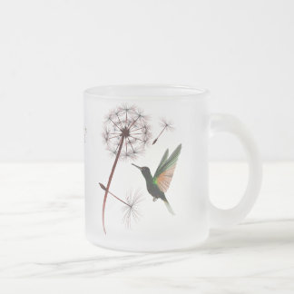 Dandelion and Hummingbird Mug