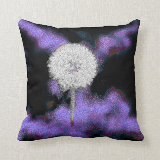 Dandelion Art Decor Pillow