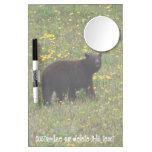 Dandelion Bear; Customizable Dry Erase Whiteboard