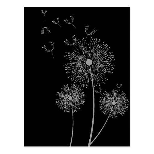 contemporary dandelion head floral - photo #41