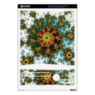Dandelion Bloom - oriental fractal design Xbox 360 S Decals