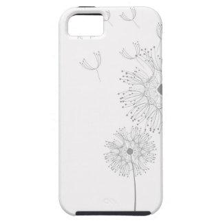 Dandelion Blossoms Vines Romantic Wedding Shower iPhone 5 Cases