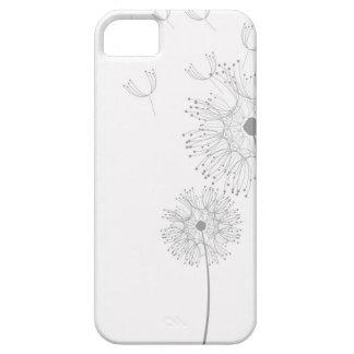Dandelion Blossoms Vines Romantic Wedding Shower iPhone SE/5/5s Case