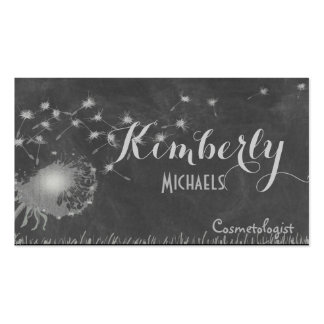 Dandelion Blowing in the Wind Double-Sided Standard Business Cards (Pack Of 100)
