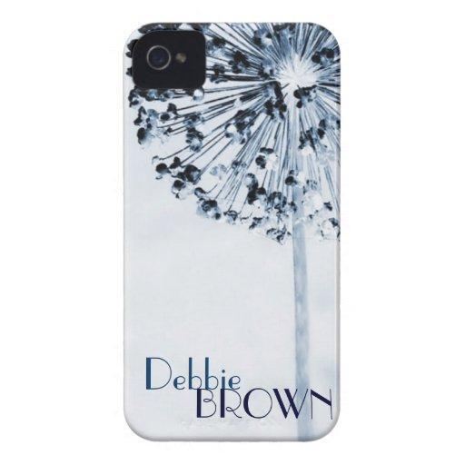 Dandelion Blue Case-Mate iPhone 4 Case