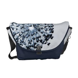 Dandelion Blue Messenger Bag