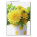 Dandelion Bouquet Cards