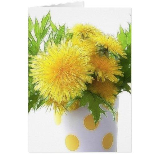 Dandelion Bouquet Cards