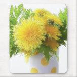 Dandelion Bouquet Mouse Pad