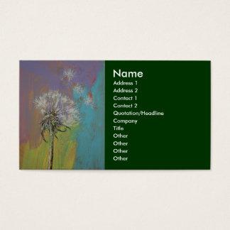Dandelion Business Card