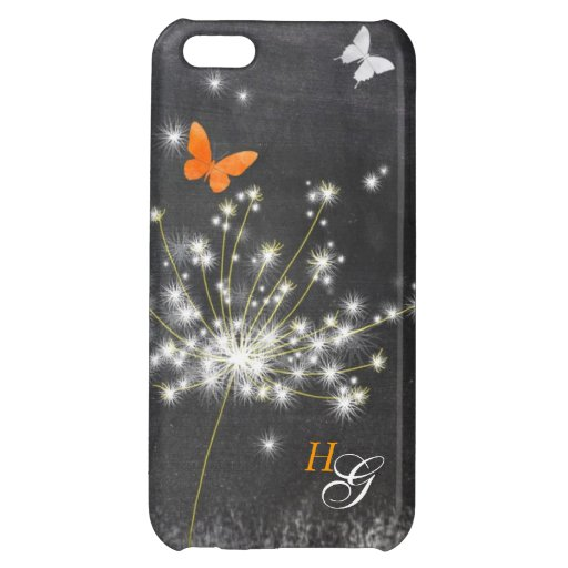 Dandelion + Butterfly Hip iPhone 5C Case Savvy