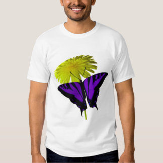 Dandelion Butterfly T Shirt