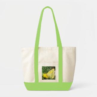 Dandelion Butterfly Tote Bag