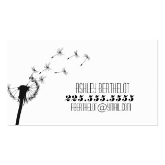 Dandelion Calling Card Business Card