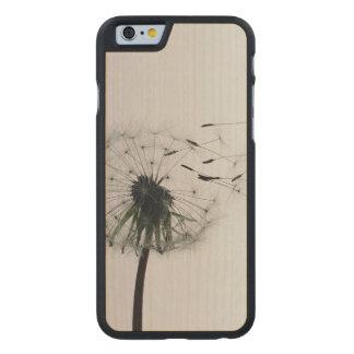Dandelion Carved Maple iPhone 6 Slim Case