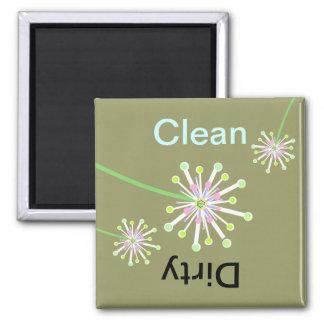 Dandelion Clean/Dirty Dishwasher Magnet