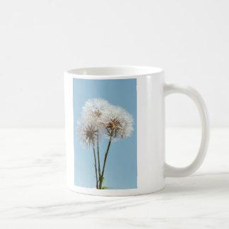 Dandelion Clocks Coffee Mug