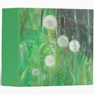 Dandelion Clocks in Grass 2008 oil on canvas Binder