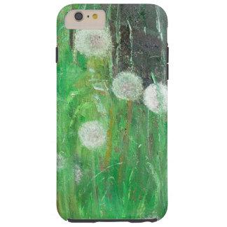 Dandelion Clocks in Grass 2008 oil on canvas Tough iPhone 6 Plus Case