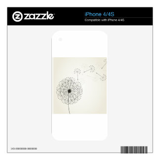 Dandelion Decals For The iPhone 4S