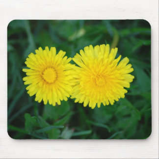Dandelion/Dotterblume Mouse Pad