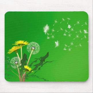 Dandelion fairies mouse pad