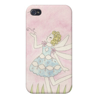 Dandelion Fairy Cases For iPhone 4