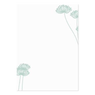 Dandelion Flower Business Card