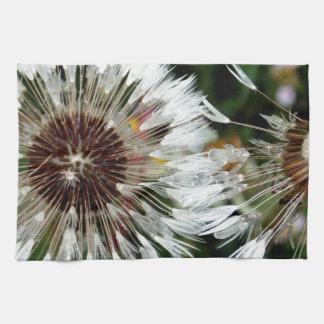Dandelion Flower Kitchen Towels