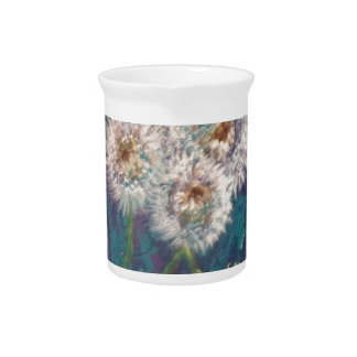dandelion fluff beverage pitcher