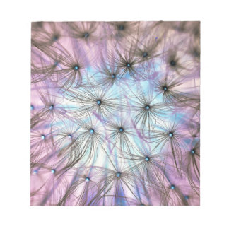 Dandelion Fluff Cloud Notepad
