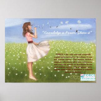 Dandelion FORCE poster
