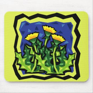 Dandelion Greens Mouse Pad