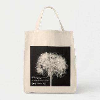 Dandelion Haiku Bag