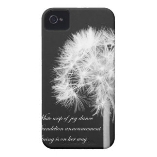 Dandelion Haiku Blackberry Case-Mate Case