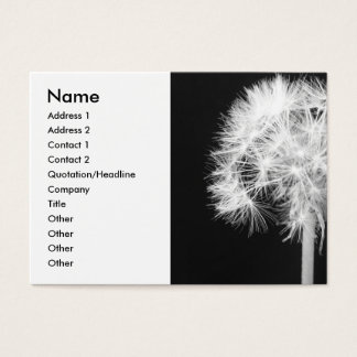 Dandelion Haiku Business Card