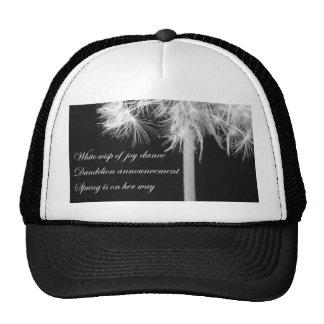 Dandelion Haiku Hat