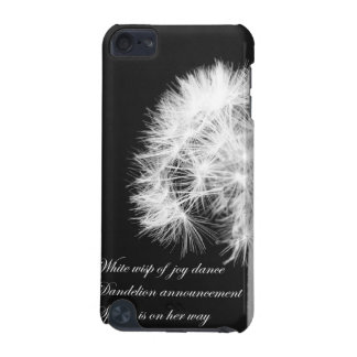 Dandelion Haiku iPod Touch Speck Case