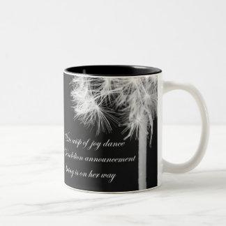 Dandelion Haiku Mug