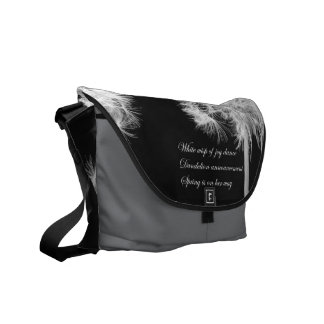 Dandelion Haiku Rickshaw Messenger Bag