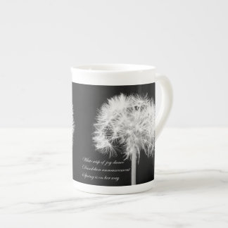 Dandelion Haiku Specialty Mugs