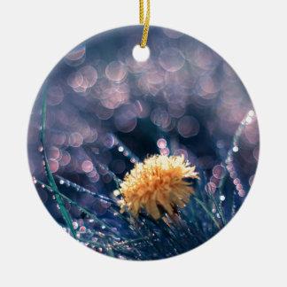 Dandelion in the grass ornaments