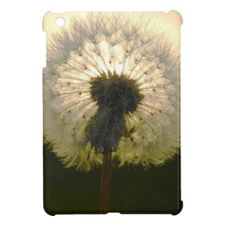dandelion in the sun iPad mini cases