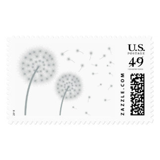 Dandelion In The Wind Postage