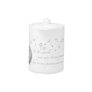 Dandelion Inspiration Teapot