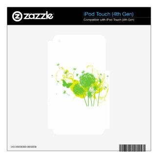 Dandelion iPod Touch 4G Skin