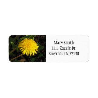 Dandelion Label